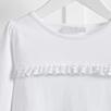 Ruffle Front T-Shirt