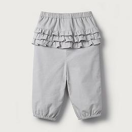 Ruffle Cord Pants