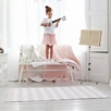 Pink Stripe Rug