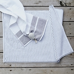 Salcombe Stripe Bath Mat