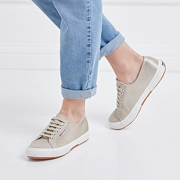 Superga Satin Plimsolls