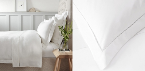 Santorini Linen Bed Linen Collection