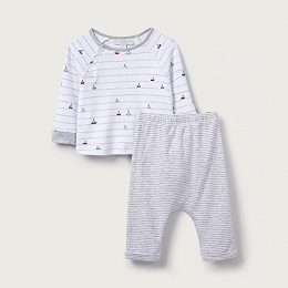 Sailboat Stripe Pyjamas