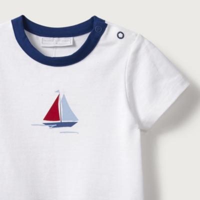 Sail Boat Romper