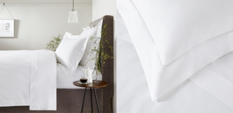 Savoy Bed Linen Collection - White