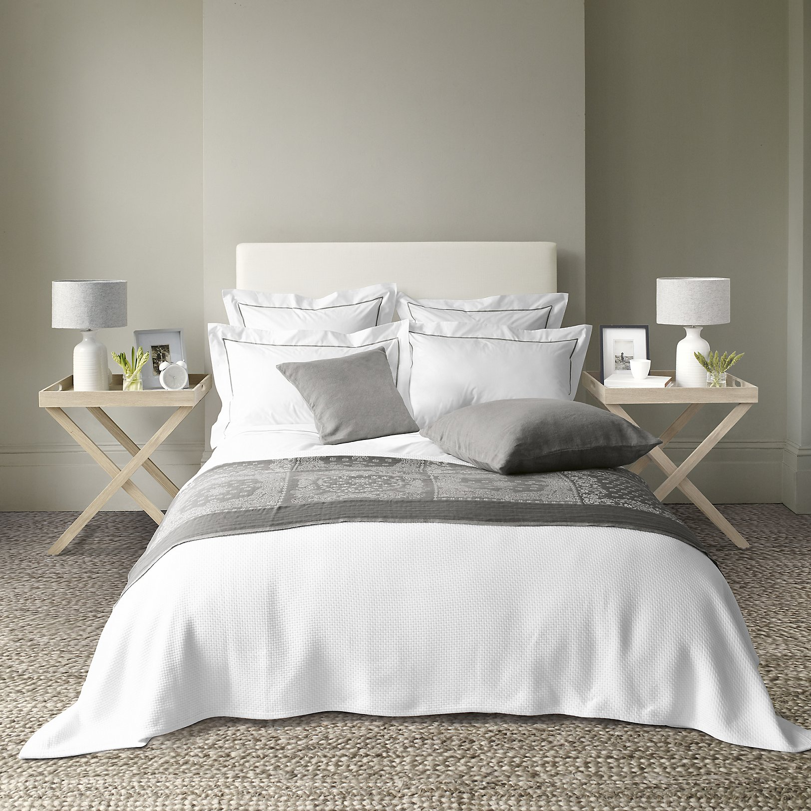 Savoy Bed Linen Collection Mink