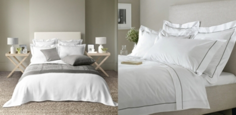 Savoy Bed Linen Collection - Mink