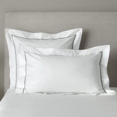 Oxford Pillowcase with Border – Single