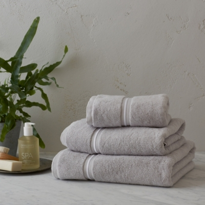 Savoy Towels - Silver