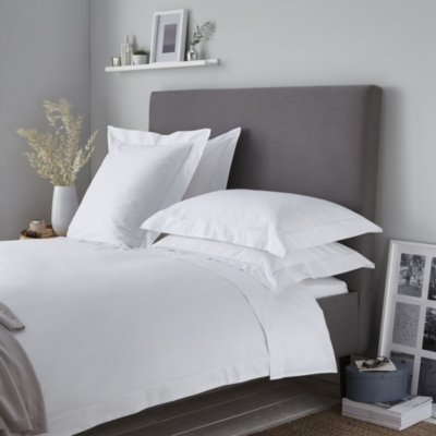 Savoy Duvet Cover - White