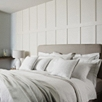 Luxury Savoy Flat Sheet - White