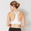 Cotton Blend Sports Bra - White