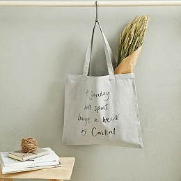 A Sunday Well Spent Shopper Tote