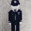 Stripe Back Policeman Hoodie