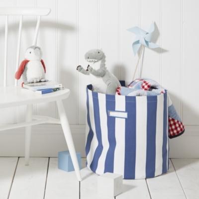 Stripe Storage Bag - Blue Stripe