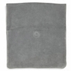 Fold-Over Suede Clutch