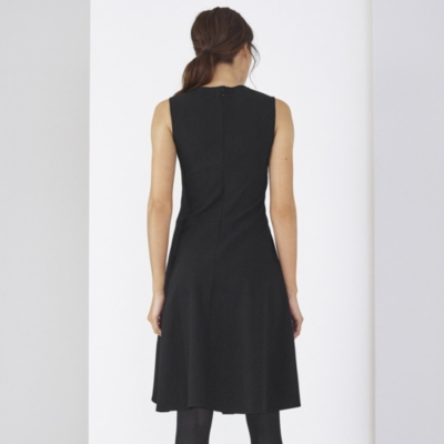 Curve Waist Stretch Crepe Dress