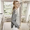 Stripe Colorblock Sweater