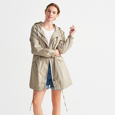 Cotton-Rich Parka Jacket | Coats & Jackets | Clothing | The White ...