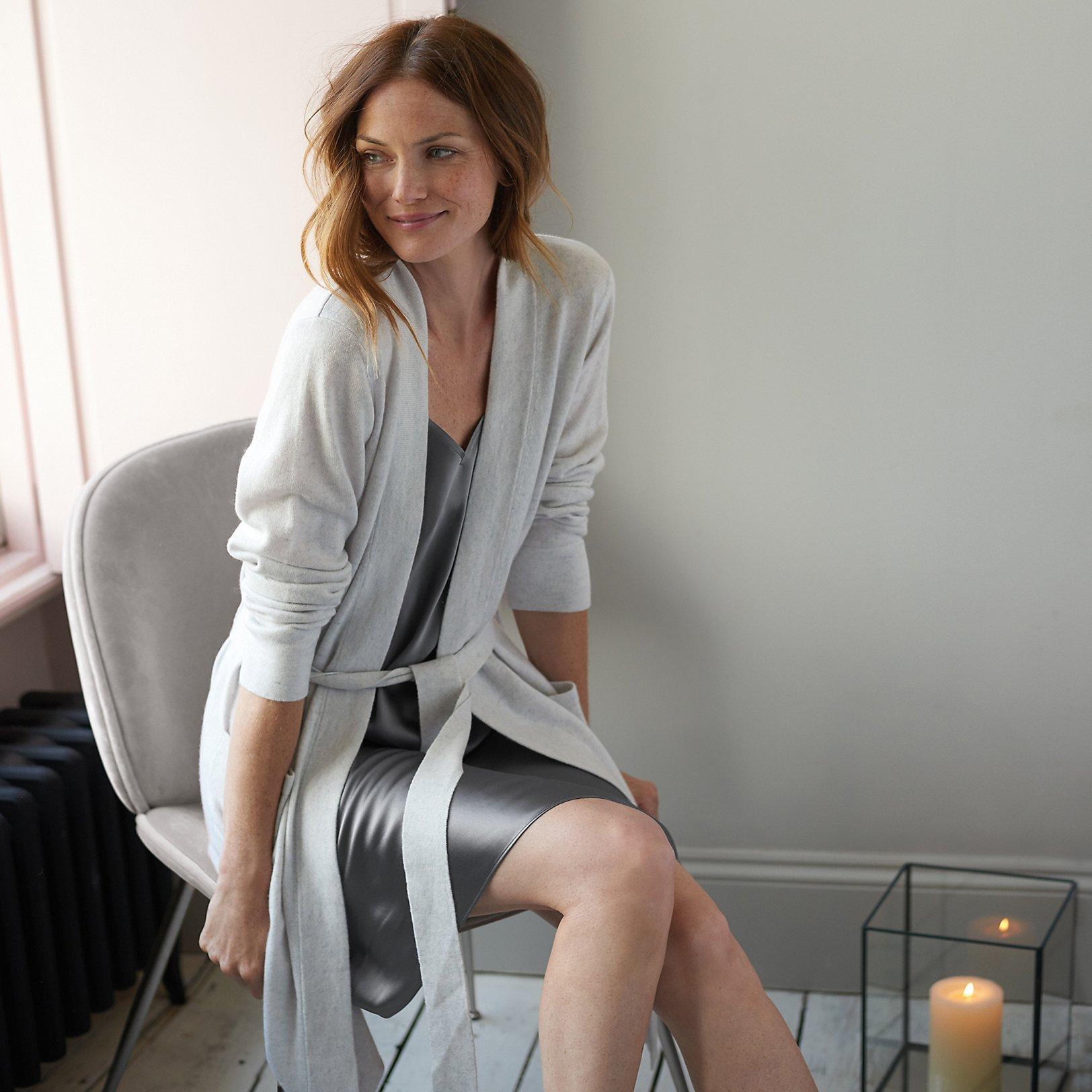 Cashmere Nightwear   Clothing   The White Company UK