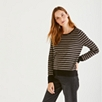 Stripe Crew Neck Sweater