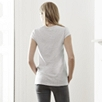 Slub Cotton V-Neck T-Shirt - Pale Blue
