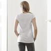 Slub Cotton V-Neck T-Shirt - Pale Blue