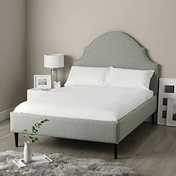 Mayfair Bed - Light Grey