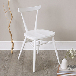 Ercol Stacking Chair - White