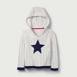 Star Cable Hoodie