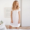 Cotton Stripe Dobby Nightgown