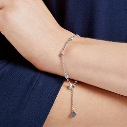 Set Stone Chain Bracelet