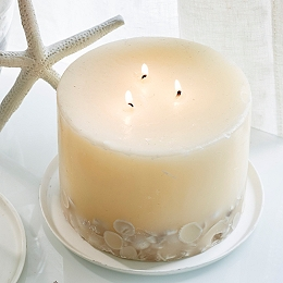 Seychelles Large Botanical Candle