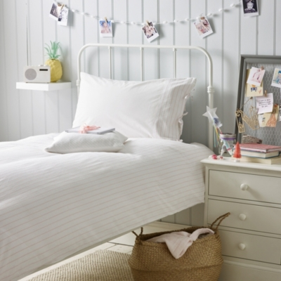 Seerksucker Pillowcase & Duvet Cover Set