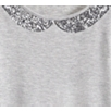 Sequin Collar T-shirt