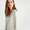 Linen Blend Soft Tailored Blazer