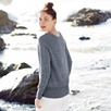 Stitch Front Linen Sweater