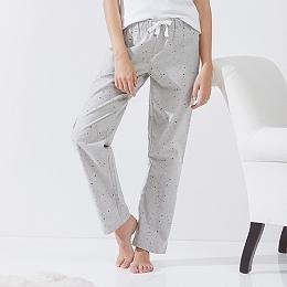 Star Flannel Pajama Bottoms