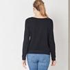 Silk Front Sweatshirt