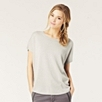 Stitch Front Sweater - Silver Gray