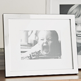 Classic Silver Photo Frame 5x7''