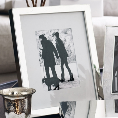 Classic Silver Photo Frame 8x10''