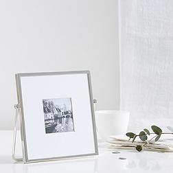 Fine Silver Easel Frame 3x3''
