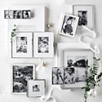 Fine Silver Easel Picture Frame 3x3''