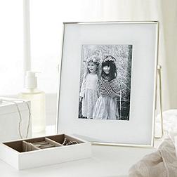 Fine Silver Easel Frame 5x7''