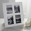 4 Aperture Fine Silver Photo Frame 8x10