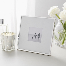 "Fine Silver Photo Frame 3x3"""