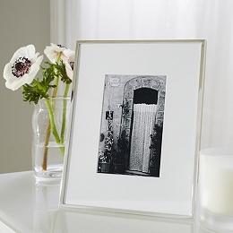"Fine Silver Photo Frame 4x6"""