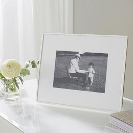 "Fine Silver Photo Frame 5x7"""
