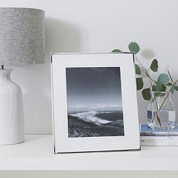 "Fine Silver Photo Frame 8x10"""